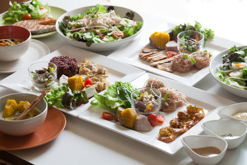 Salad, healthy food