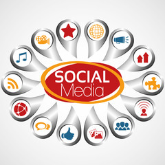 Illustration Vector Graphic Social Media