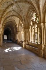 Cloisterof Monastery of  Poblet ,Tarragona, Catalonia,Spain,