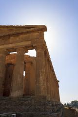 Greek Temple of Concordia in Agrigento - Sicily, Italy