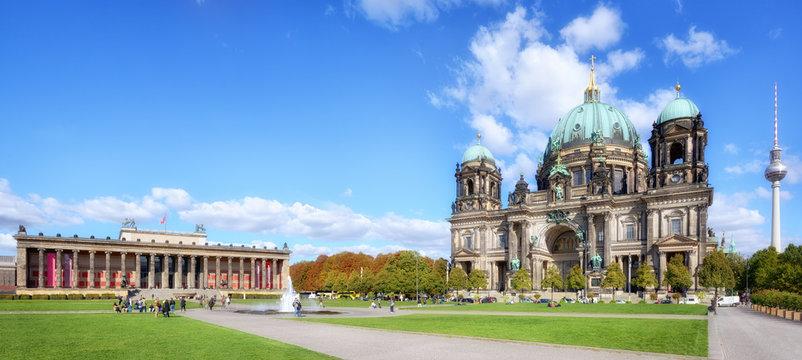 Lustgarten mit Dom und Altes Museum, Berlin
