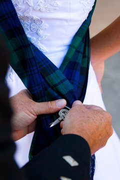 Scottish Kilt Wedding Attire
