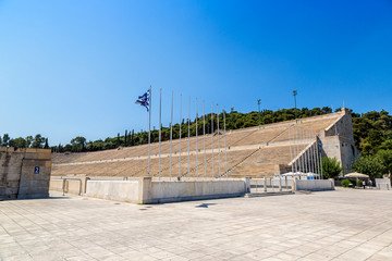 The Panathenaic Stadium  Athens, Greece