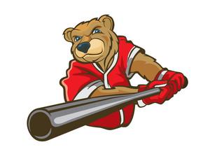 baseball bear logo