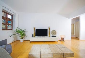 modern interior of livingroom