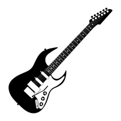 electric guitar contour