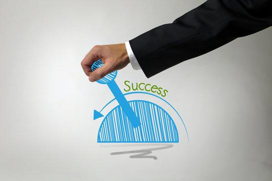 Erfolg im Geschäftsleben