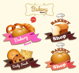 Bakery shop logo design