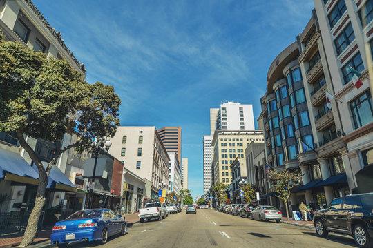 サンディエゴの市街地風景