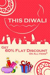 Happy Diwali discount sale promotion