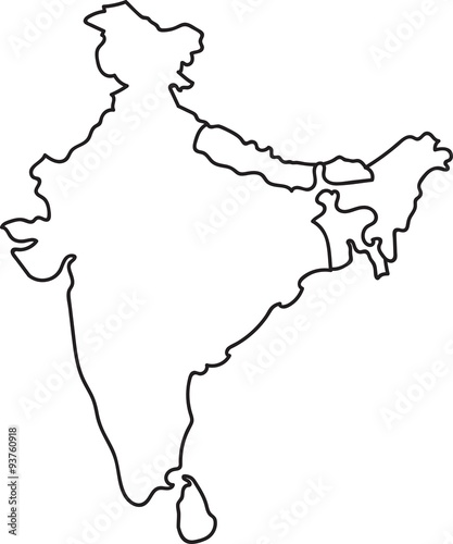 Map Of India. India Free Maps Free Blank Maps Free Outline Maps Free ...