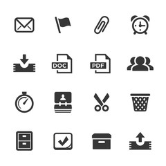 Office Icons, Mono Series