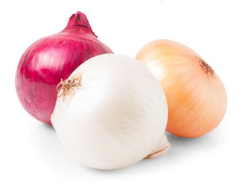 Three large onions