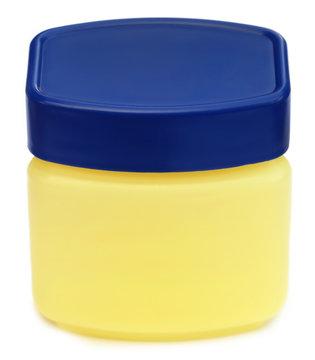 Jar for petroleum jelly