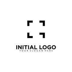 Photography initial G logo icon vector