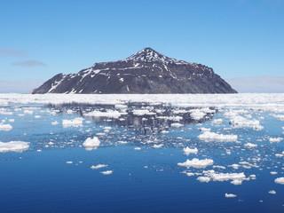 Antarctica iceberg landscape