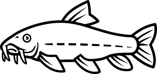 catfish stock photos and royalty free images vectors and Goliath Grouper simple catfish vector