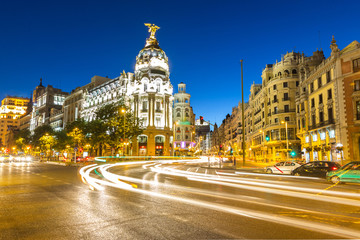 Gran Via Madrid Fotomurales