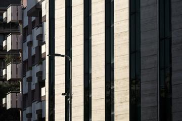 Milan: modern residential buildings