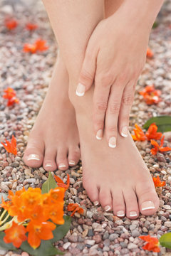 Natural Pedicure Manicure Feet Massage Ankle Pain Relief Nature