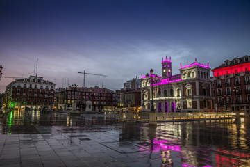 Valladolid, major square