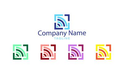 Wifi Wireless Logo Vector