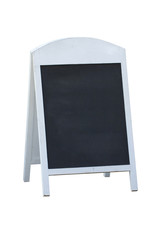 Reservation black board stand sign.