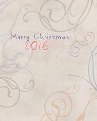 Happy New 2016 Year illustration