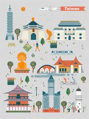 Taiwan landmarks