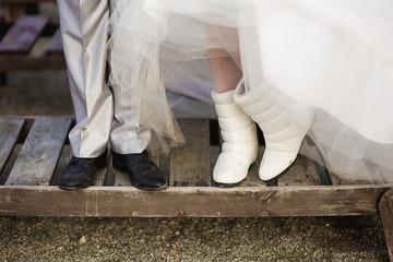 feet newlywed