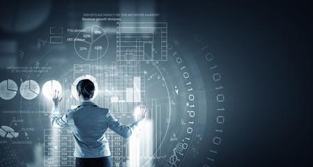 Innovative technologies. Concept image
