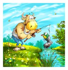 Bull fisher