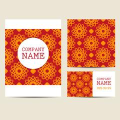 Corporate  Business Set. Brochure Design Templates