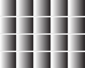 Abstrack black white squares background