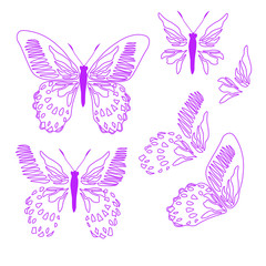 Butterfly cover tile fabric pattern   background  illustration design Abstract wallpaper print