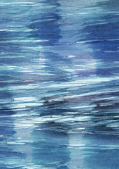 Dark blue and purple abstract watercolor texture, ideal for your
