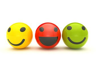 Smiley balls