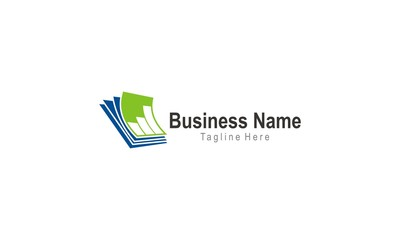 document business finance logo