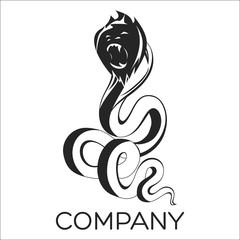 snake and monkey logo