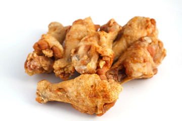 The amazing Salt and Pepper Chicken Wings deep fried