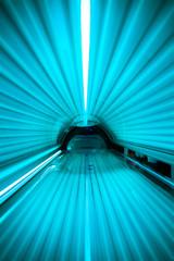 inside of an enclosed solarium