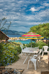 Camping on the Cote d'Azur