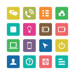 UI Outline For Web and Mobile icons universal set
