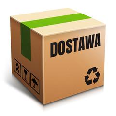 Obraz Dostawa - pudełko - fototapety do salonu