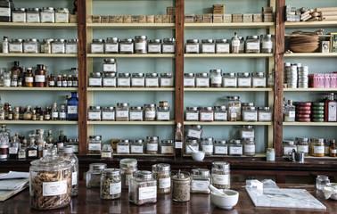 historic store medicine Apothecary