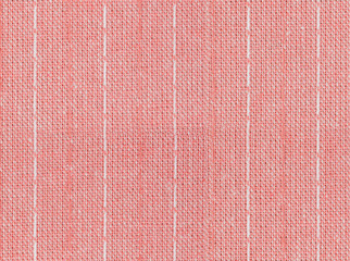 Seamless pink and white line fabric texture
