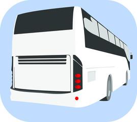 Ônibus de viagem.