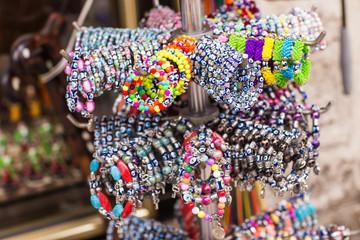 Keuken foto achterwand Marokko bracelets at the bazar of Istanbul