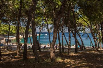 Dalmatien, Kroatien Primosten, Traumstrand