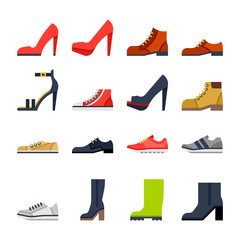 footwear for all occasions. shoes, sneakers, boots